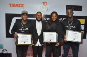 The Critics Company Won Big At African Smartphone International Film Festival 2019.