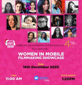 Women In Mobile Filmmaking Special Showcase ASIFF'20